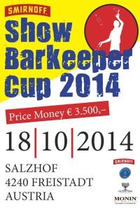 Smirnoff Showbarkeeper Cup 2014